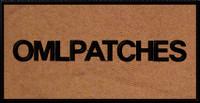 custom 3x6 nametape or smaller full back patch in sheriff