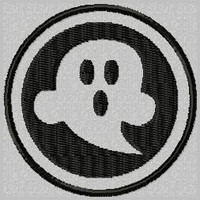 Scary Ghost Custom Patch