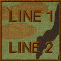 free text morale patch in woodland
