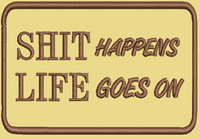 Shit life Morale Patch