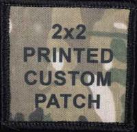 Printed Custom 2x2 patch