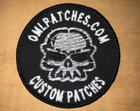 Team Template Skully Velcro Patch