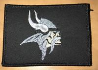 Minnesota Vikings Black Subdued