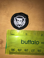 Triangle Skull Micro Patch Custom