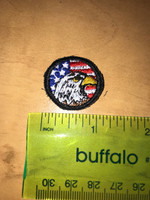 USA Eagle Head Micro Patch