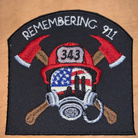Remembering 911 Memorial Patch