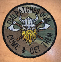 Custom Norseman Viking team patch