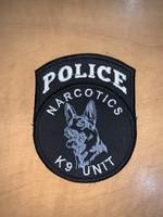 Custom Police K9 Unit patch