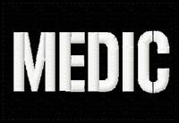 Custom VELCRO® Brand ID Patches stencil