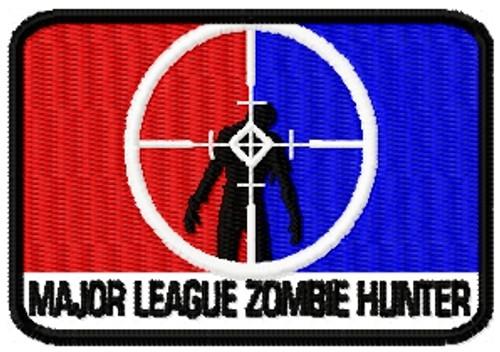 major league zombie patch