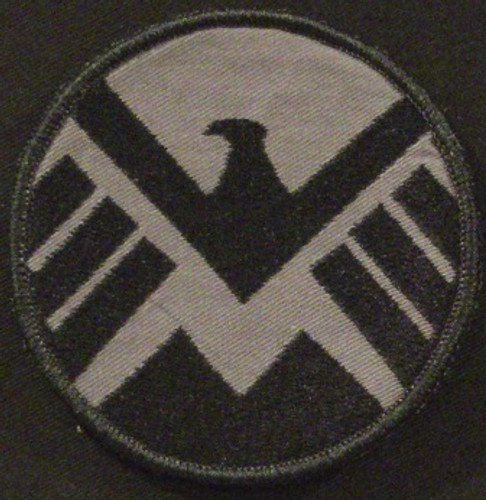Iron Man shield patch