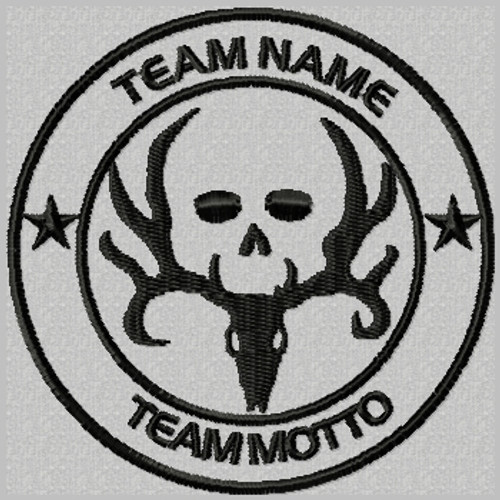 Custom Team Template Patch Bone Collector