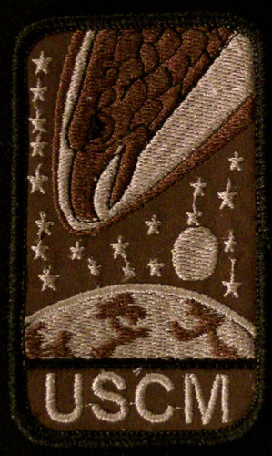 screaming eagle patch