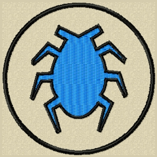 Blue Beetle VELCRO® Brand Patch