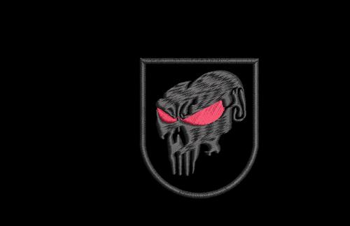 Custom Punisher Style Beret Flash