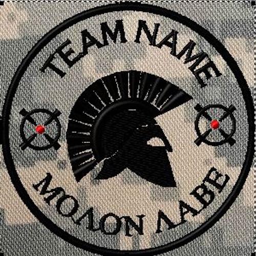 Team Patch Molon Labe ACU