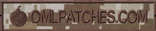 Nametape Patch EOD Bomb Squad DCU