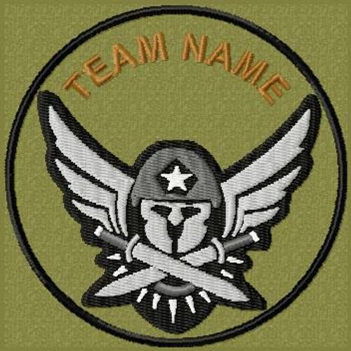 Team Template Molon Labe Air VELCRO® Brand patch