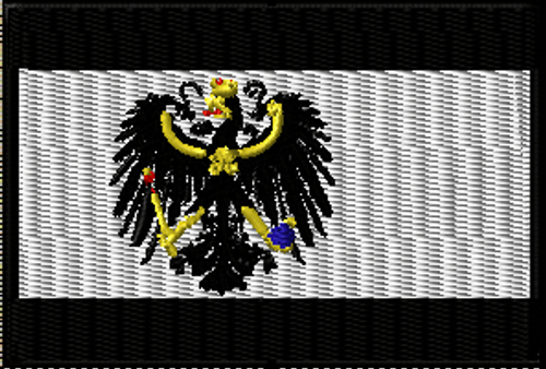 Digital image of the Prussian Flag Patch, patch pictures soon