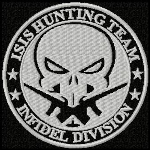 Isis Hunting Team VELCRO® Brand patch