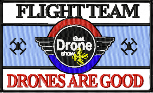 Drone Flight team Patch