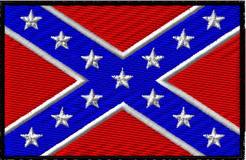 Large size Rebel Confederate flag