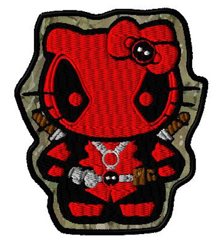 Hello Deadpool VELCRO® Brand patch