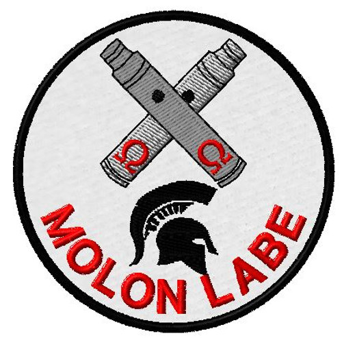 Molon Labe Spartan Vaping Ecig custom Patch