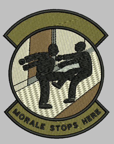 ultimate morale patch - custom velcro patch - just add your own lettering