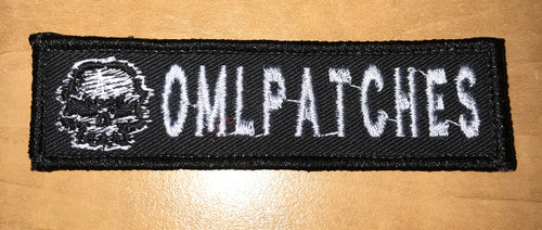 Merrowed Namtape Skully Velcro patch