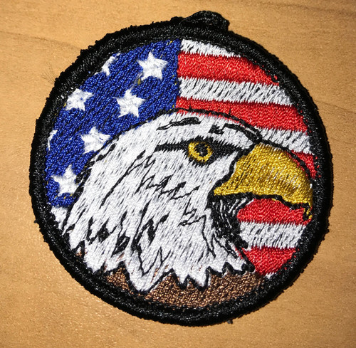 USA Eagle Head Custom Patch