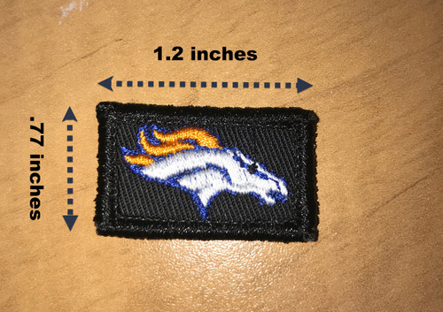 Denver Broncos Micro Patch
