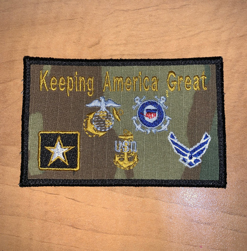 Keeping America Great!!  Morale Patch