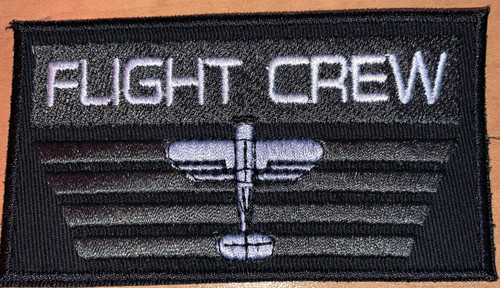 Custom Flight Crew Velcro Patch