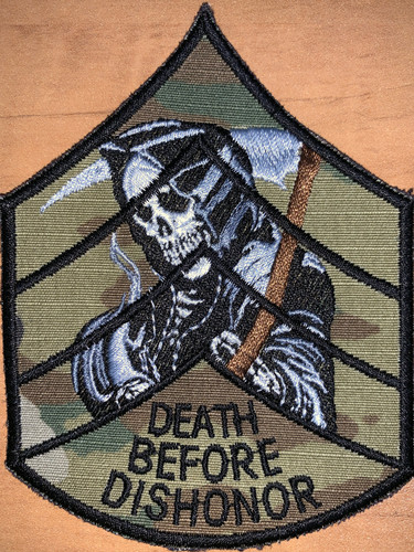 Death Before Dishonor velcro patch