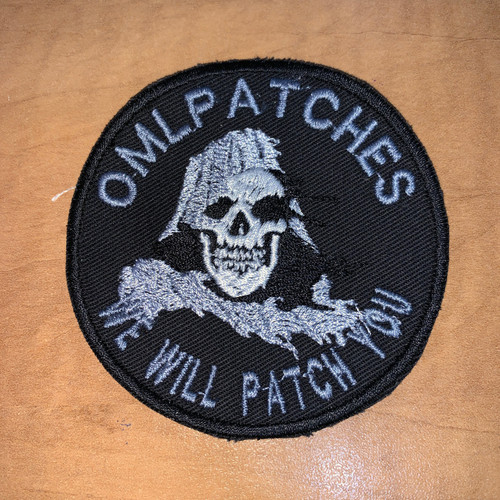 Tattered Reaper Team Patch