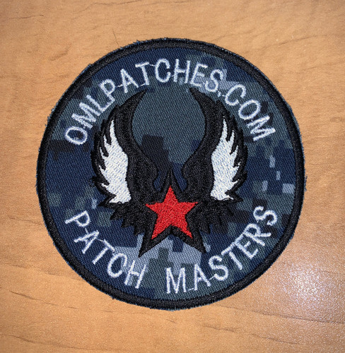 Flying Star Custom Team Patch