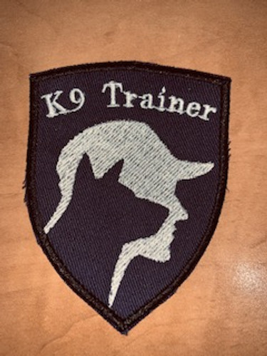 K9 Trainer Team Patch