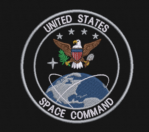 United States Space Command Morale Patch