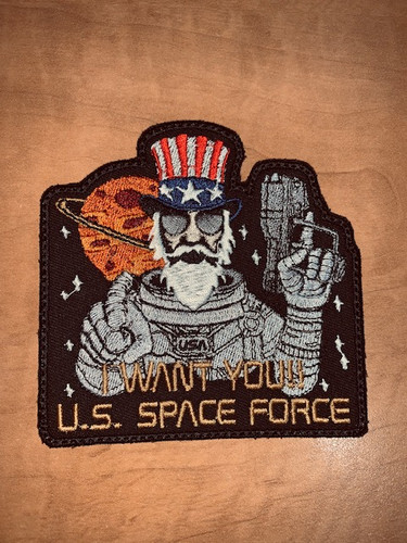 I Want You Space Force Morale Patch