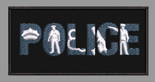 Police Morale Velcro Patch