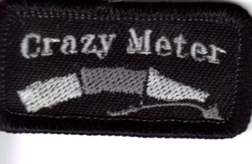 Crazy Meter Patch 2x3