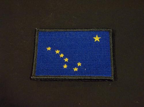 Alaska flag patch full color