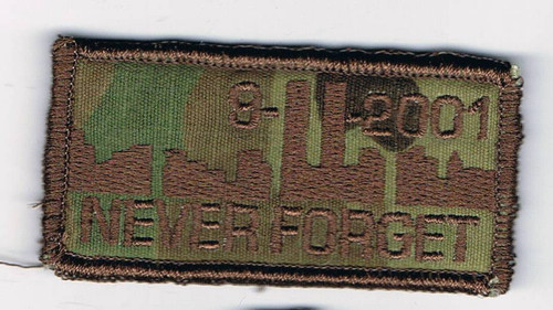 911  memorial Patches