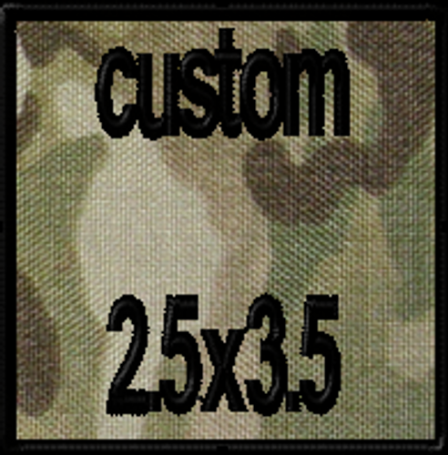 Custom 2.5x3.5 VELCRO® Brand Patch