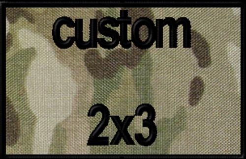 custom 2x3 VELCRO® Brand patch