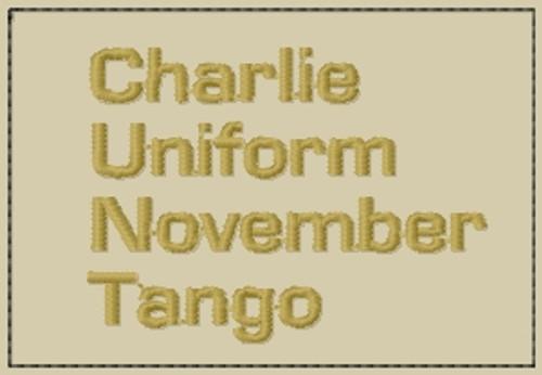 Funny Patch Charlie Uniform