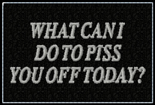 What Can I Do funny VELCRO® Brand patch