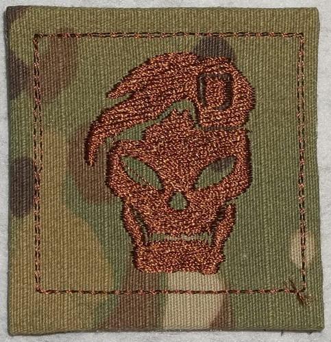 Rank Patch - COD Black OPS skull