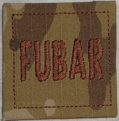 Rank Patch - FUBAR
